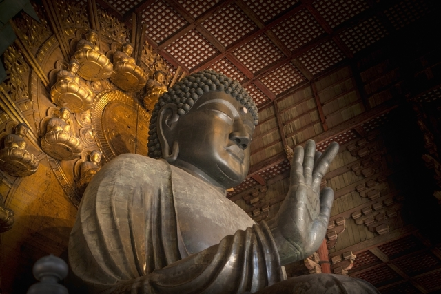 Buddha at Todaiji Temple