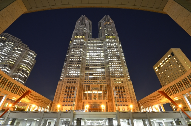 Government Metropolitan Building, Shinjuku
