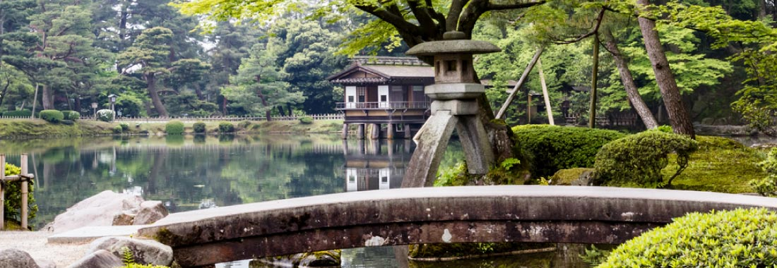 Japanese garden self-guided tours
