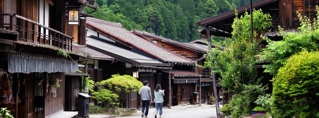 Walking tours of Japan