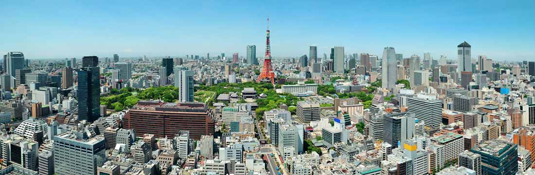 Places of interest in Tokyo