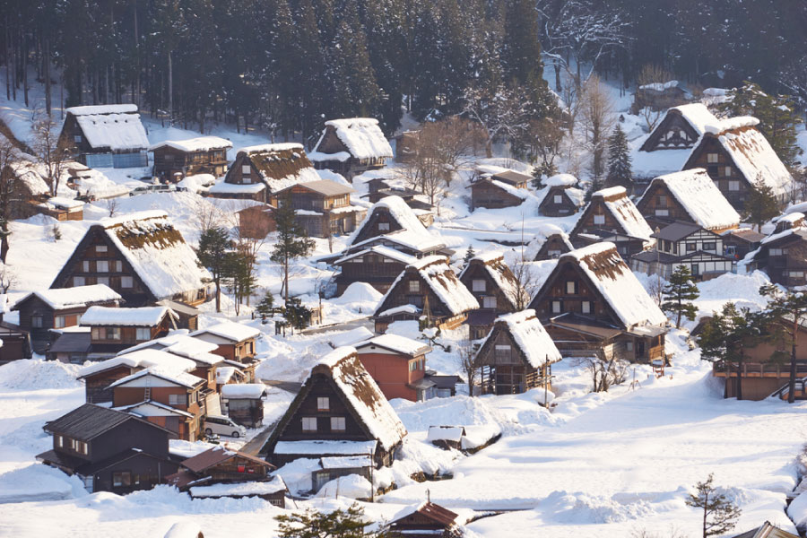 Winter in Shirakawa-go
