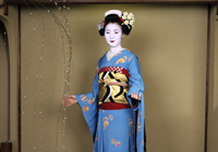 Traditional Japanese Maiko Dance
