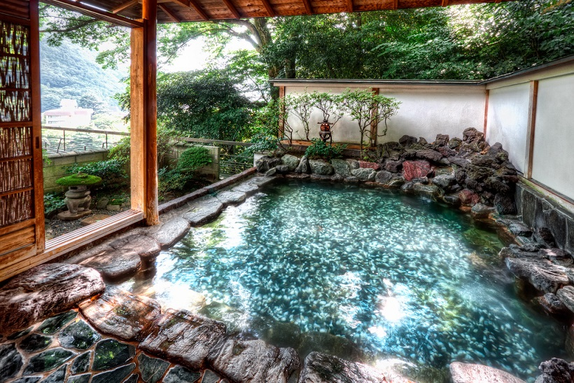 Hot Spring at Hotel Hakone